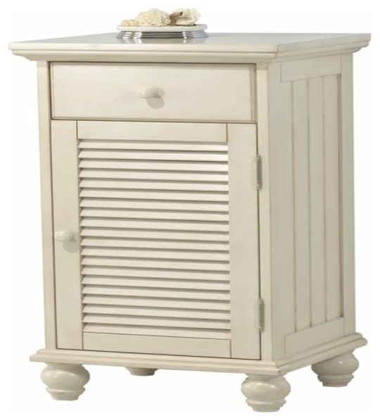 Foremost Cottage Floor Cabinet Premium Antique White Finish - Traditional - Storage Cabinets ...