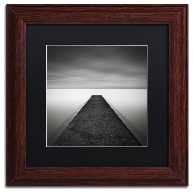 'Edge Of Reality' Matted Framed Canvas Art by Dave MacVicar
