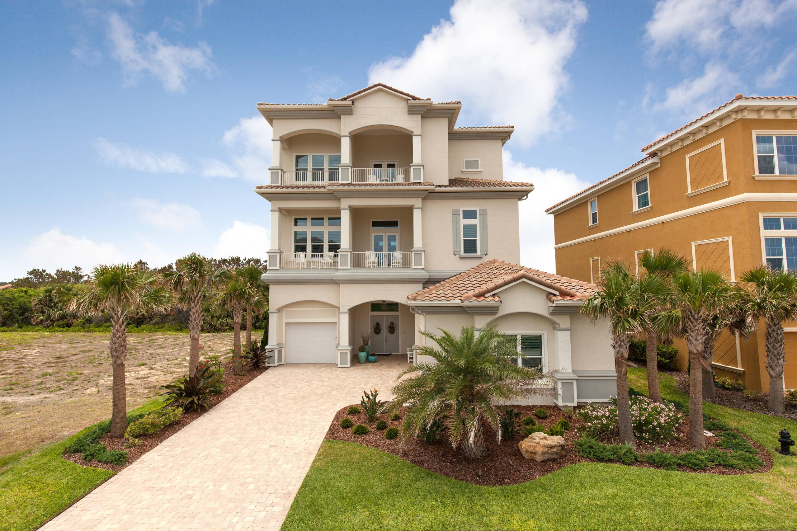 New Ocean Front Home