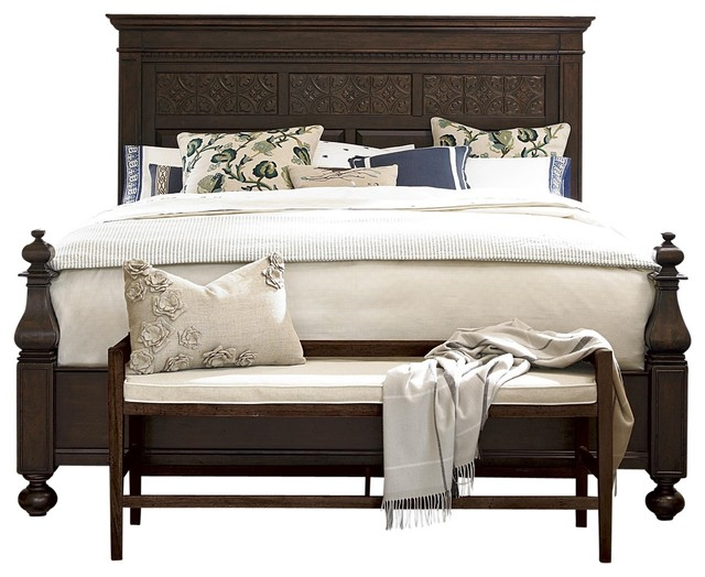 Hillside Panel Bed Traditional Panel Beds By Totally