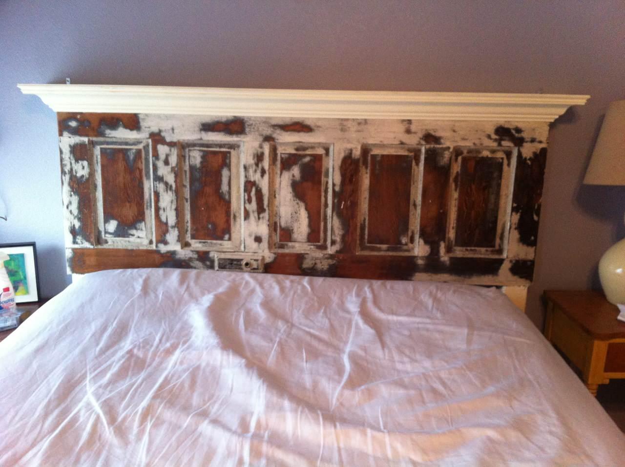 Old Doors Headboard Houzz