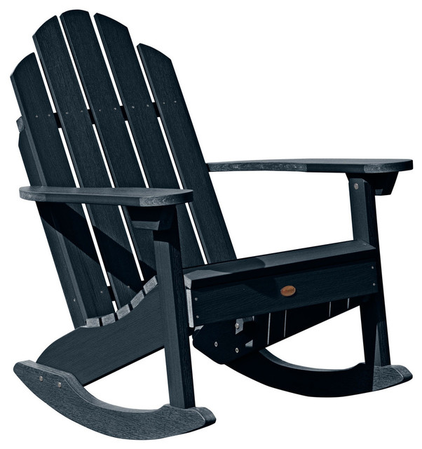 Classic Westport Adirondack Rocking Chair - Contemporary - Outdoor ...