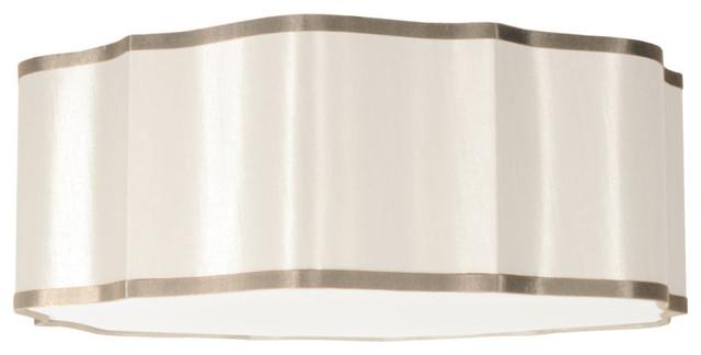 Artemis 3-Light Pendant, Cream.
