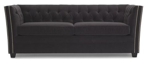 Fiona Super Luxe Queen Sleeper Sofa Contemporary Futons By