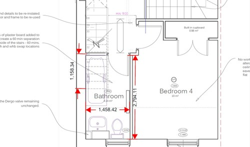 under stairs bathroom plans 12 Things You Most Likely