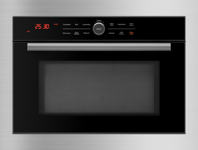 5 in 1 Oven™ Built in Convection Microwave, including Stainless Steel Trim Kit