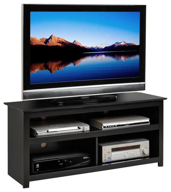 Prepac Vasari Flat Panel Plasma LCD TV Console In Black