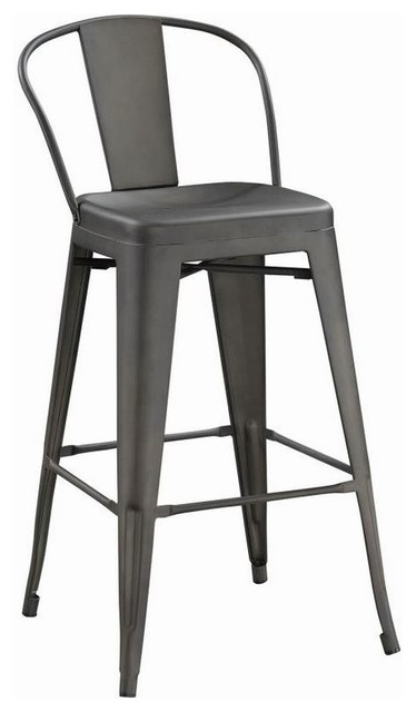 Terrific Lex Armless Bar Stools Bronze Set Of 2 Gmtry Best Dining Table And Chair Ideas Images Gmtryco
