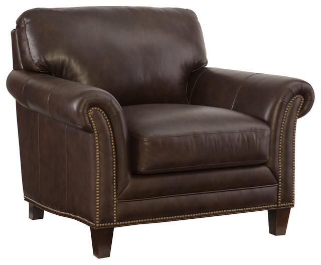 Hooker Furniture Living Room Verona Mahogany Stationary Chair.