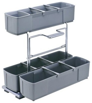 Cleaning Caddy Storage Unit Pullout, Gray.