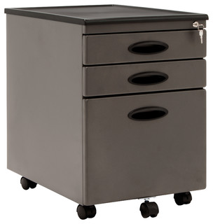 Mobile File Cabinet - Modern - Filing Cabinets - by Studio Designs
