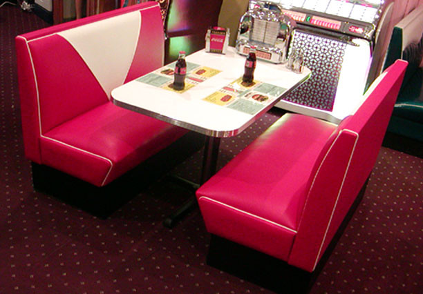 Bars And Booths Custom Diner And Dining Booths Eclectic