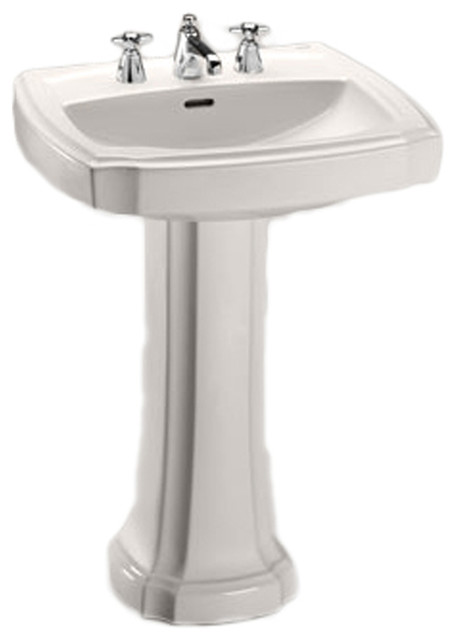 toto bathroom sinks toto lpt972 bone guinevere pedestal lavatory single 14785