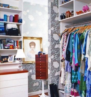 dominomag- closet idea eclectic closet