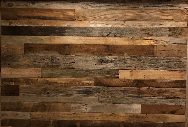 Reclaimed Barnwood Wall Planks Brown