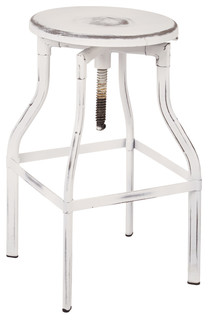 Eastvale Bar Stool, Antique White