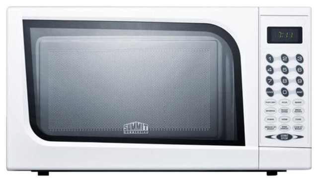 Mid-Sized Microwave Oven With A Fully White Finish Sm901wh.