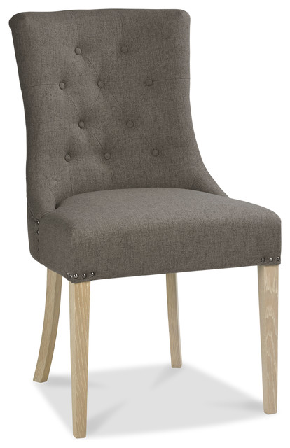 Bourne Upholstered Slope Dining Chair.