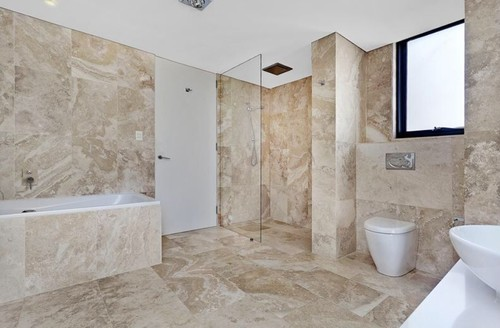 related images. Collect this idea travertine bathroom walls