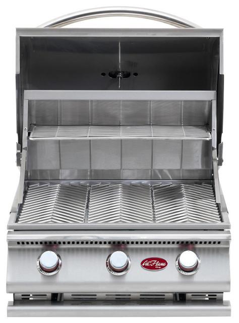 Cal-Flame G Series Built In 3 Burner Grill.