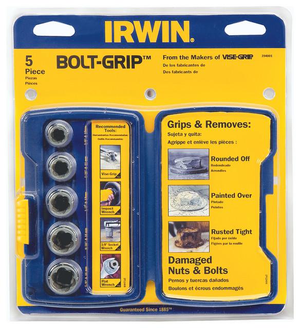 Irwin 5-Piece Bolt Extractor Set.