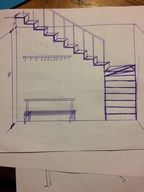Progetto scala - Larghezza scala interna ...
