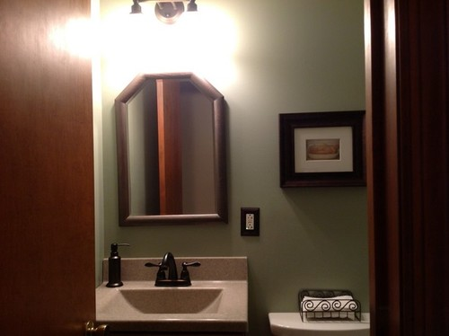 Bathroom Mirror Not Over Sink need your opinion!