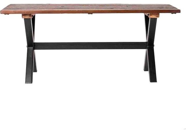 shop houzz moe 39 s home collection ivan dining table dining tables