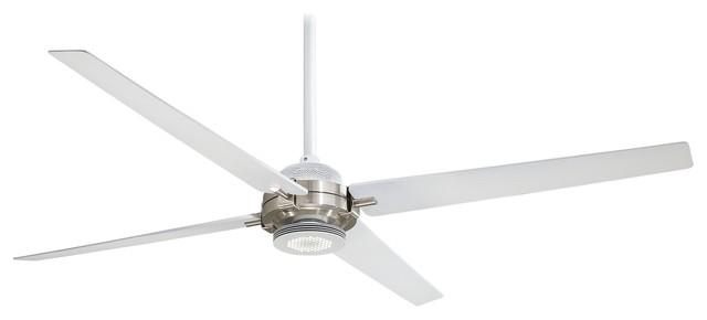 Minka Aire Spectre Flat White 60 Ceiling Fan.