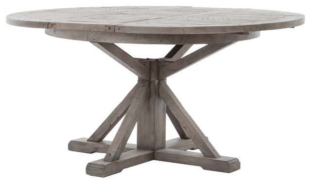 Cintra Extension 48 Dining Table Black Olive Farmhouse