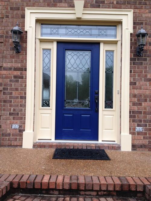 Front door color - Pictures of blue front doors ...