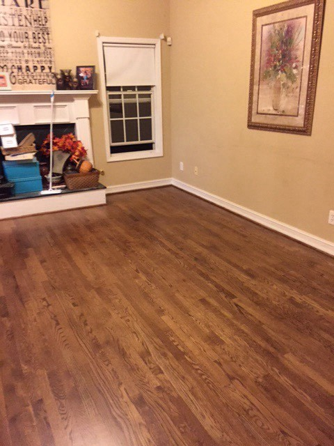 Paint To Match Hardwood Floors