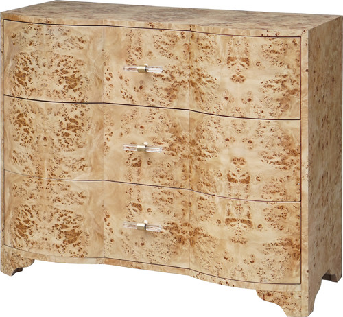 Plymouth Chest - Burl Wood