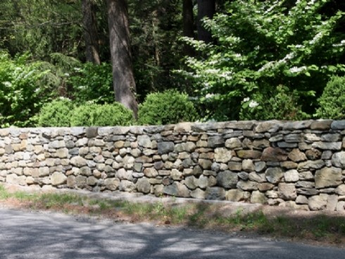 CT Fieldstone wall stone