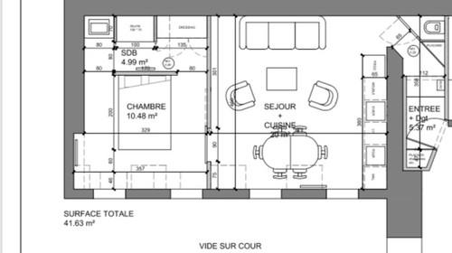 largeur couloir entr e. Black Bedroom Furniture Sets. Home Design Ideas