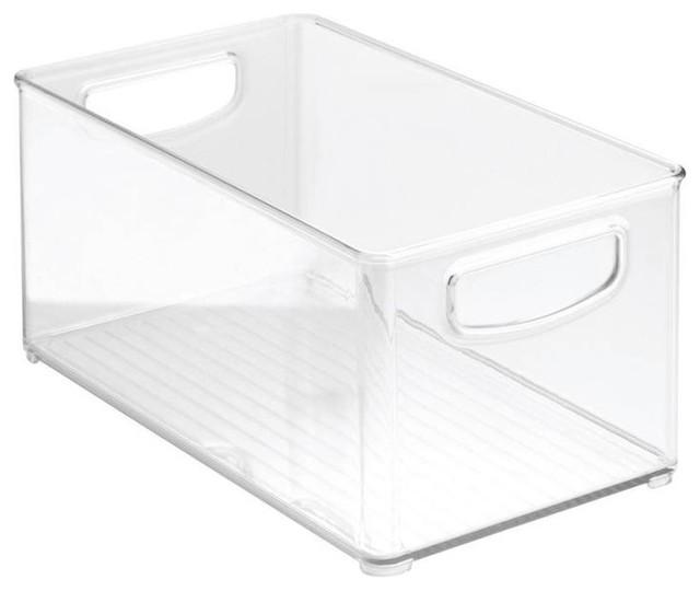 """Interdesign Clear Kitchen Bin, 10""""x6""""x5""""."""