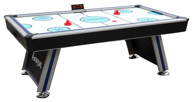 Harvil 7u0027 Air Hockey Game Table Full Size For Kids And Adults Contemporary  Game