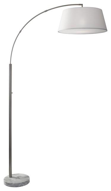Thompson Arc Lamp, White.