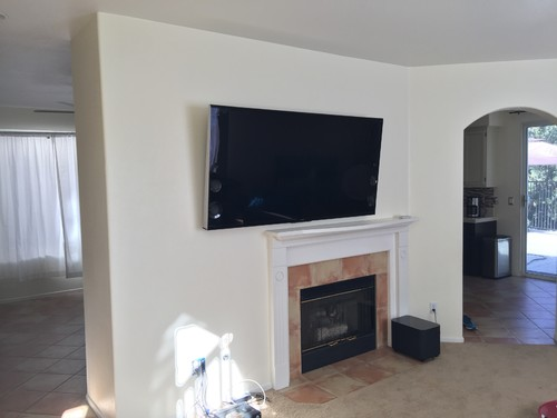 Off Center Fire Place