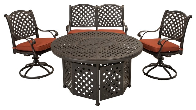 Fire Pit Dining Set Outdoor Dining Sets Part 27