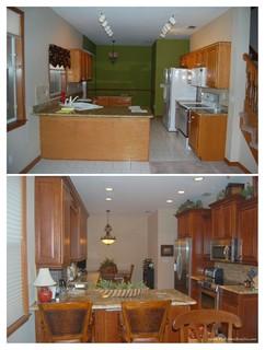 Cozy kitchen remodel 2 tampa von the cabinet store inc for Lutz barhocker
