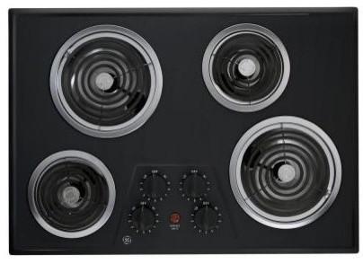 Ge 30 Built-In Electric Cooktop.