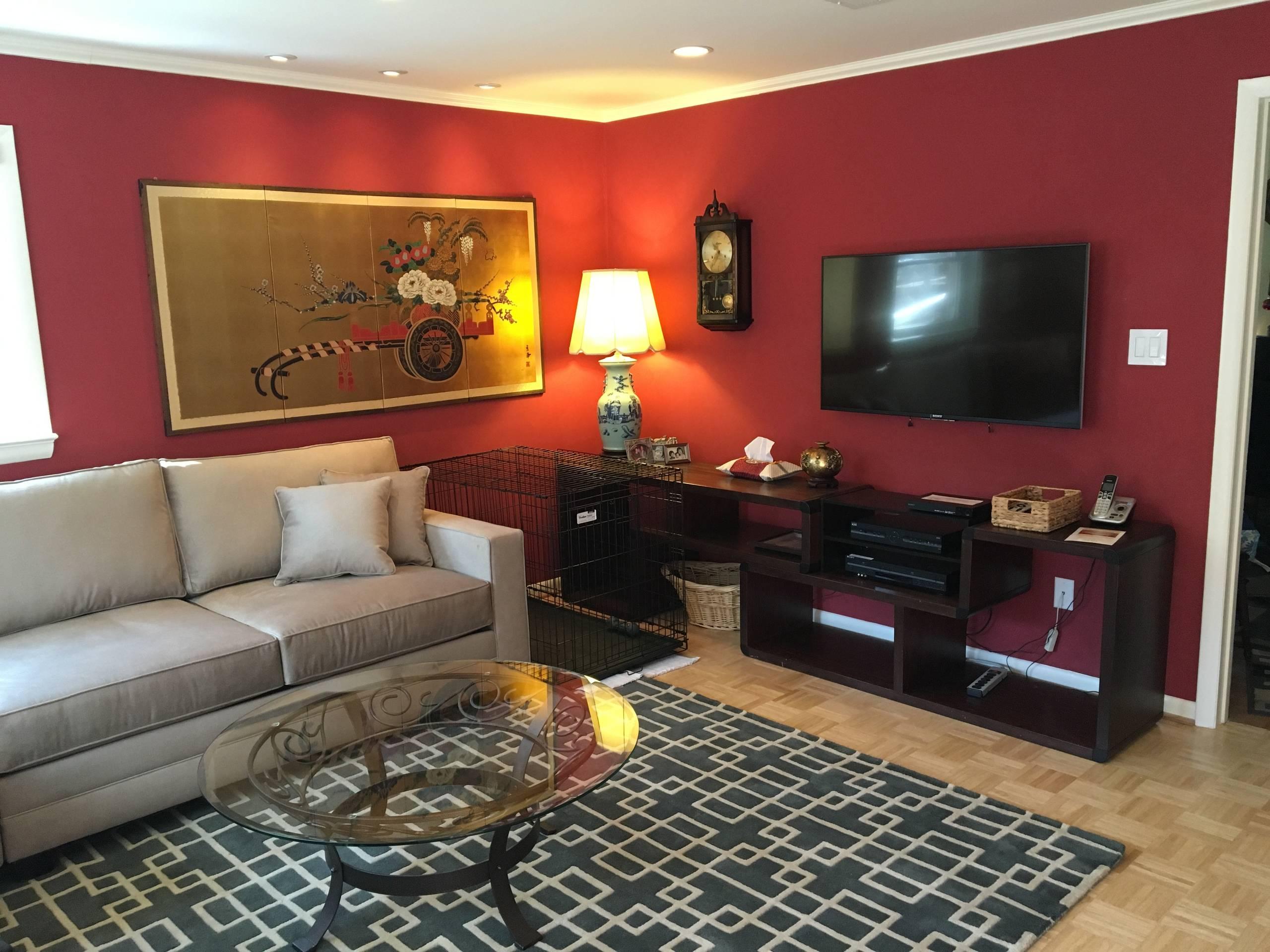 Traditional Arlington Living Room