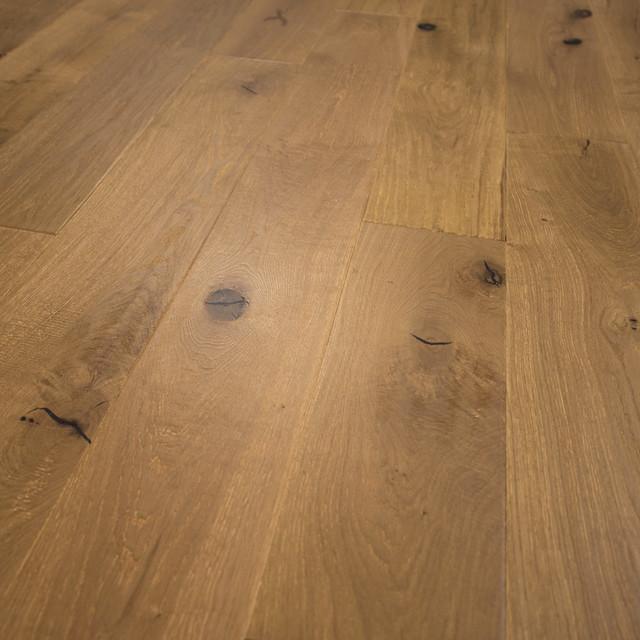 French Oak Prefinished Engineered Wood Floor, Old Vineyard, Sample - Farmhouse - Hardwood ...