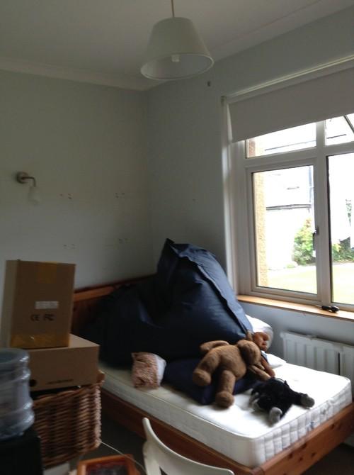 . Small north facing bedroom