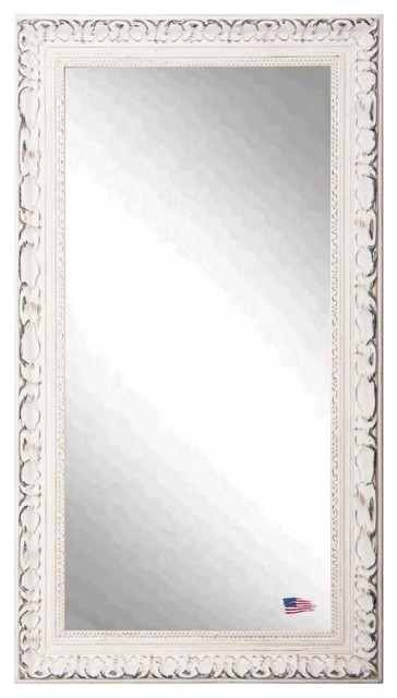 Rayne mirrors american made romantic french victorian for White full length wall mirror