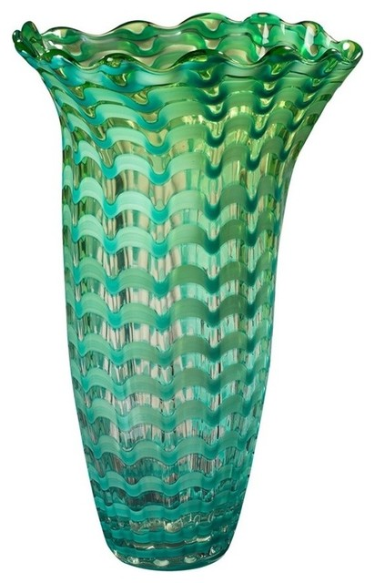 145 Waterfront Vase Tiffany Contemporary Vases By 1stoplighting