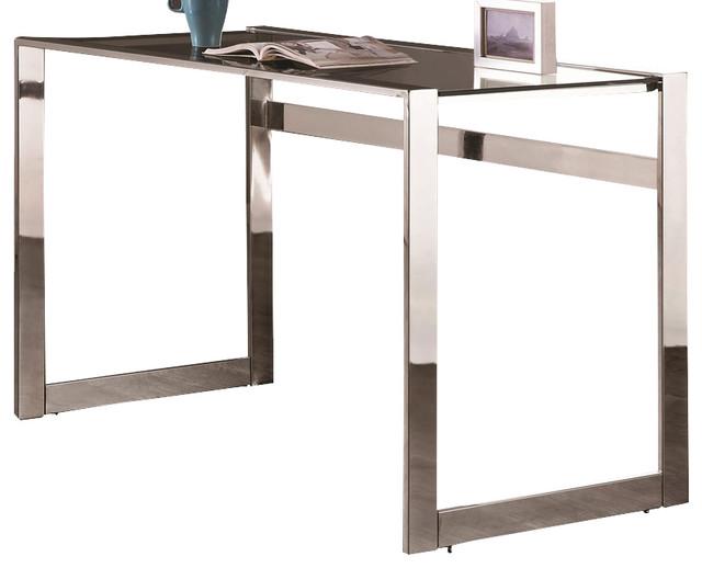 Coaster Desks Contemporary Computer Desk With Chrome Legs 800746.