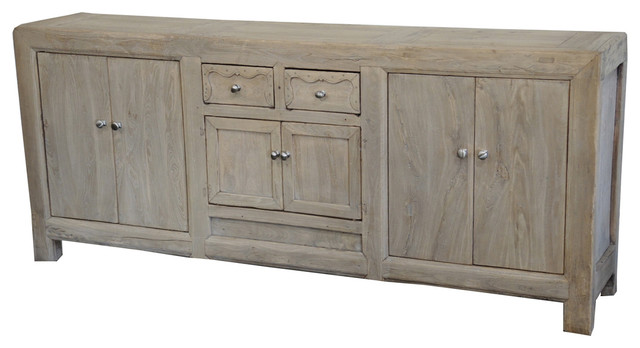 Terra Nova Designs, Inc. Antique Wood Sideboard Media ...
