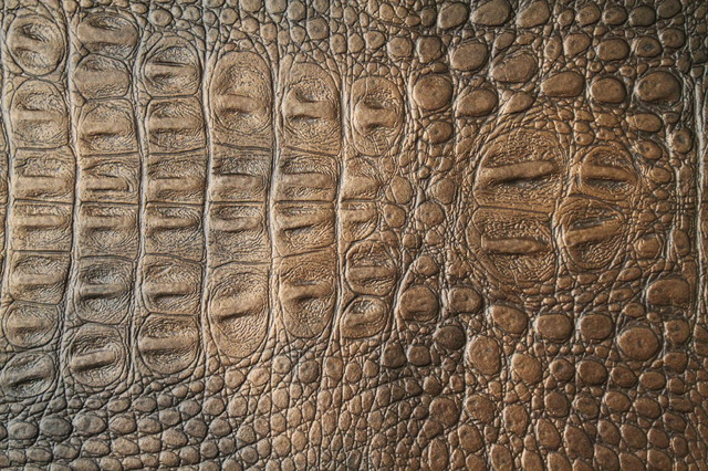 Alligator 3270 Copper Faux Leather for Upholstery and Interior Design by FFC